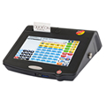 QTouch 10 POS System made by QUIRiON supplied by Cash Control Cape